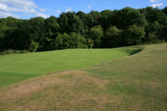 A look at the 1st green at Royston Golf Course