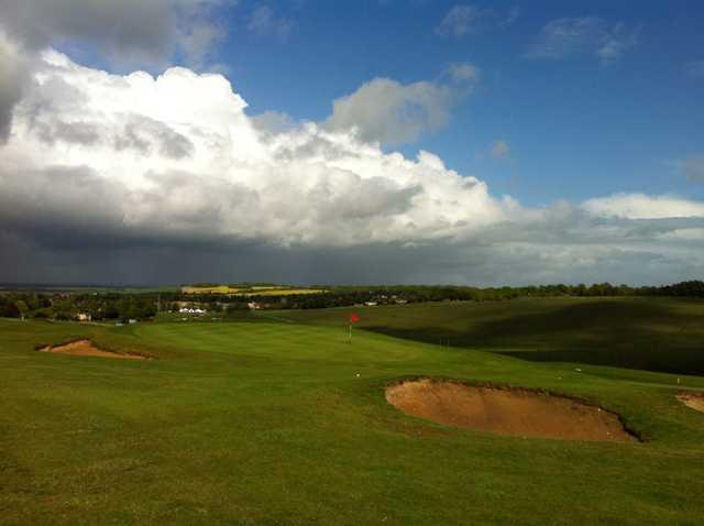 A look at the 3rd green at Royston Golf Club