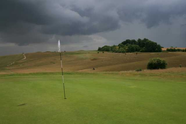 A look at the well-manicured greens at Royston Golf Club