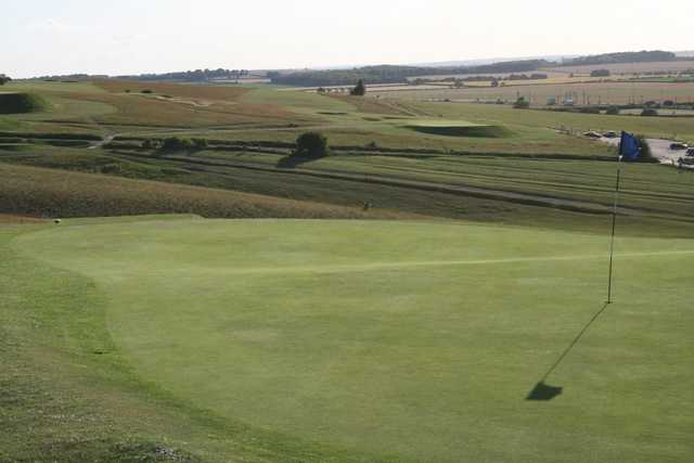 Some of the stunning scenery on offer at Royston Golf Club