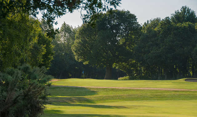 The approach at the 3rd hole at Old Fold Manor