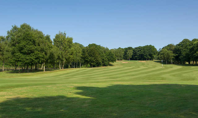 The view from the 9th fairway at Old Fold Manor