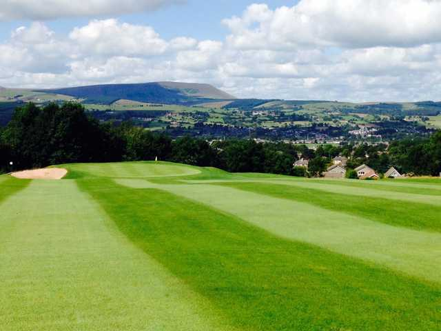 A look at the stunning 5th green at Marsden Park Golf Course