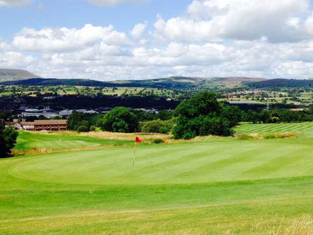 The fantastic view from the 15th hole at Marsden Park Golf Course