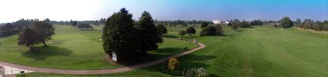 Beautiful panoramic view of the course at Cleethorpes Golf Club