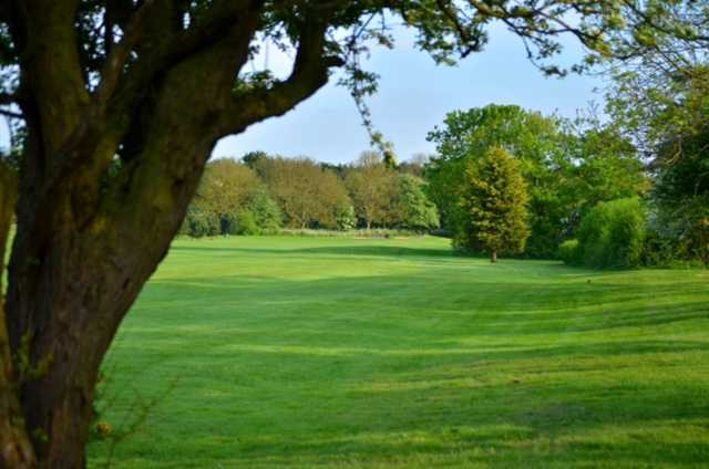View of the 7th fairway and surrounding trees at Cleethorpes Golf Club