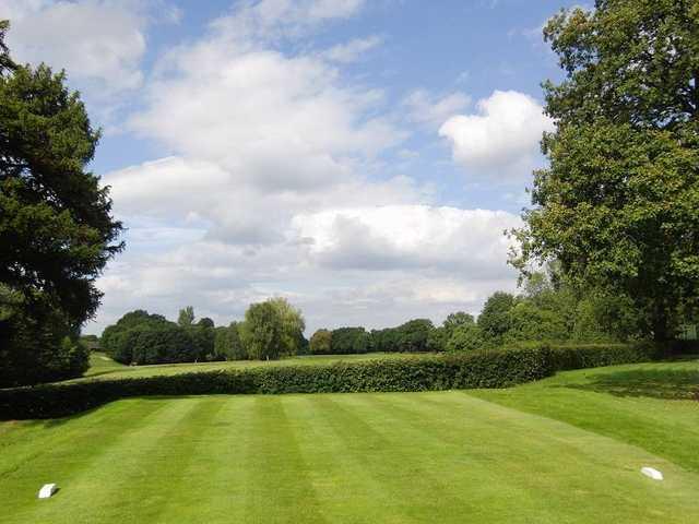 The 6th green at Gatley Golf Club