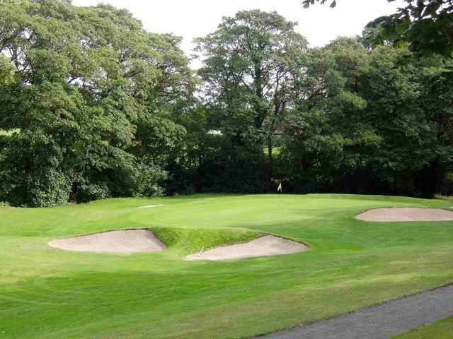 9th green at Gatley Golf Club.