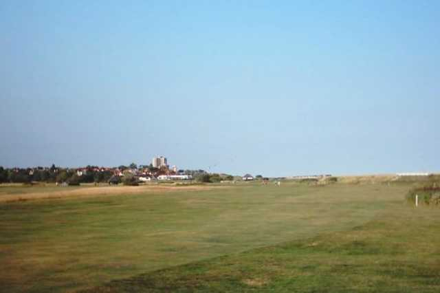 The 4th hole on the Harvers course at Frinton Golf Course