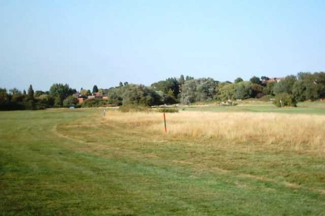 A view of the 1st hole on the Harvers Course at Frinton Golf Course