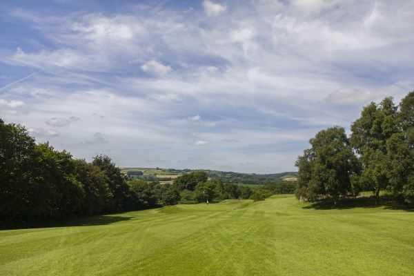 Tiverton Golf Course, 12th green