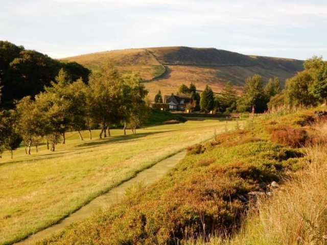 Scenic view of the course at Glossop & District Golf Club