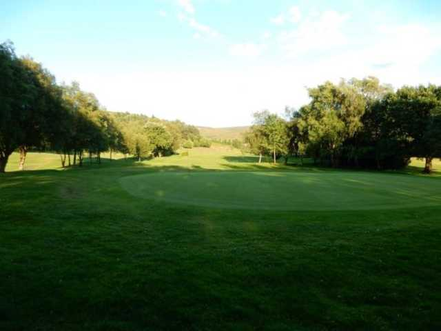 A look back from the green at Glossop & District Golf Club