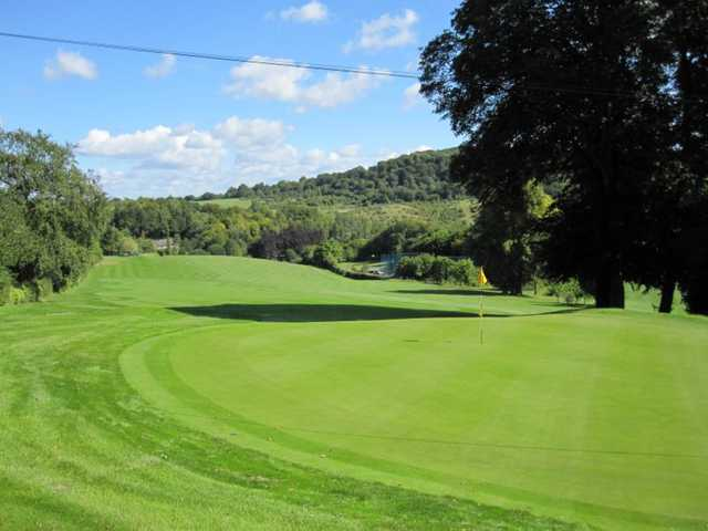 View of the 6th green at Whiteleaf Golf Club