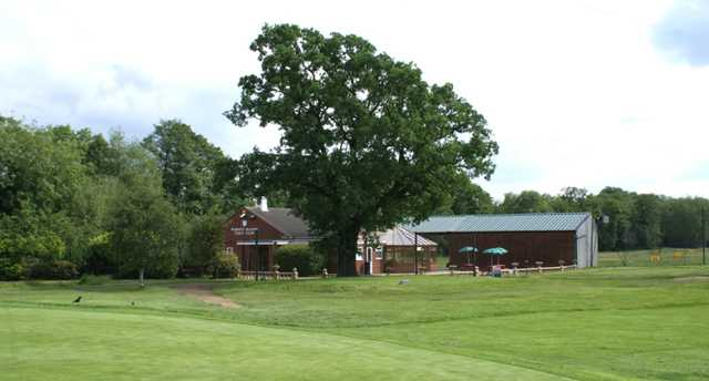 An exterior shot of the clubhouse at Widney Golf Club
