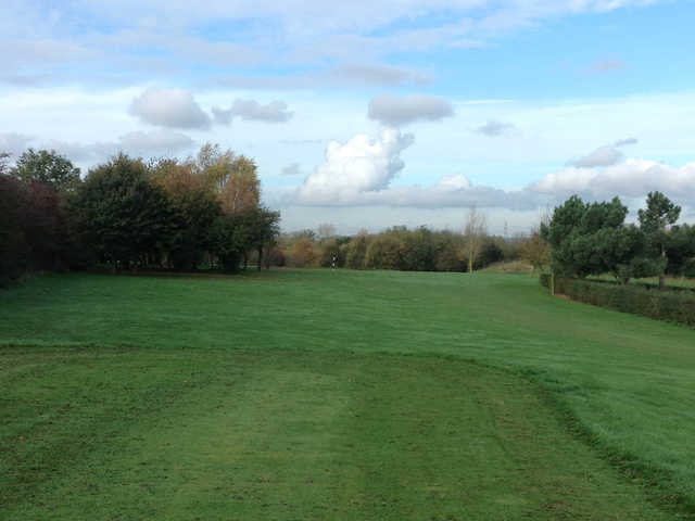 On the 1st fairway at the Bramcote Waters Golf Club