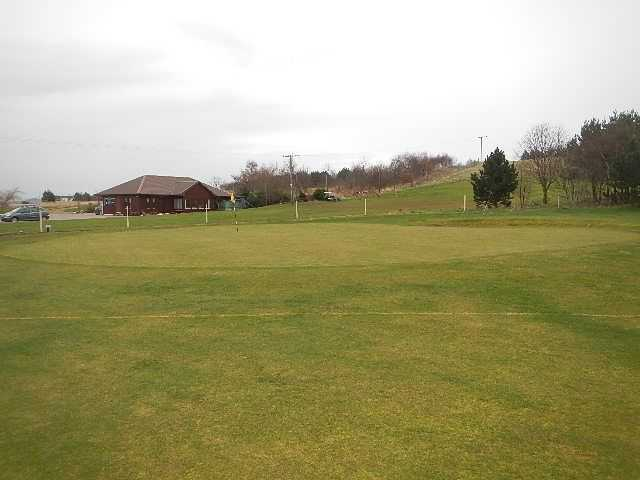 View from the 9th green at Kinloss Country Golf Club