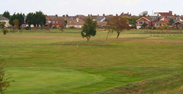 View from Whitstable & Seasalter Golf Club