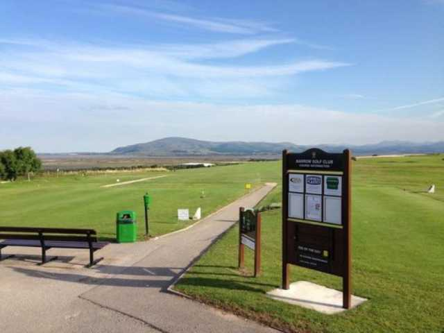 1st tee at Barrow Golf Club