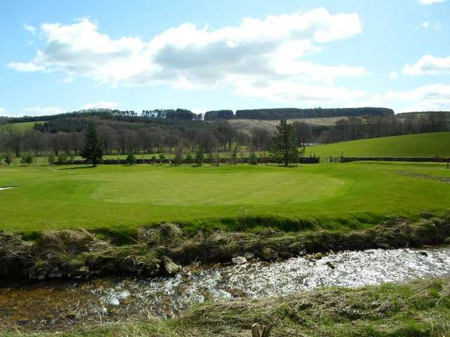 The opening hole from Woll Golf Course