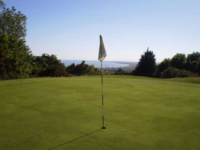 Sene Valley GC: Beautiful scenery from the green