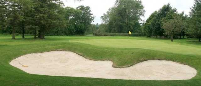 The 12th green from Banbridge GC