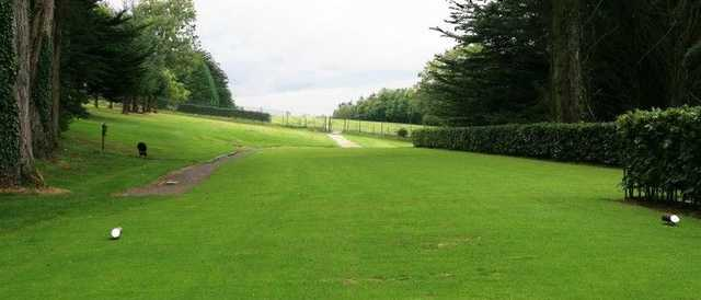 The 2nd tee from Banbridge GC