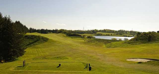 The tough 8th hole at East Renfrewshire GC