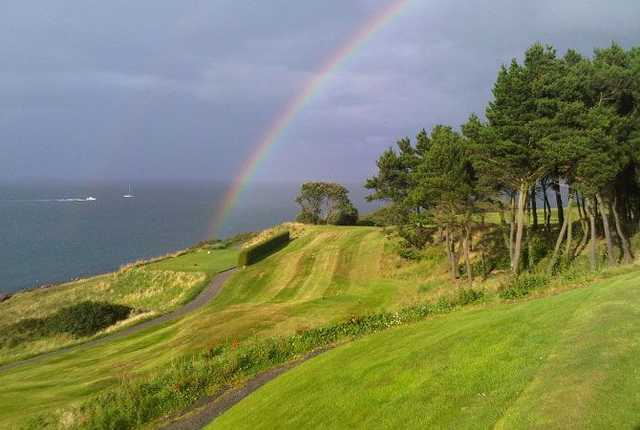 A picturesque view from Carnalea GC
