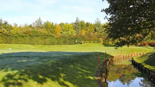 Be sure to miss this water hazard at Ashton-on-Mersey Golf Club