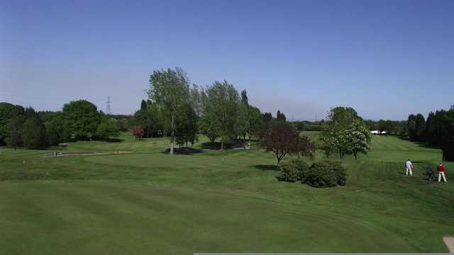 View from Ashton-on-Mersey Golf Club