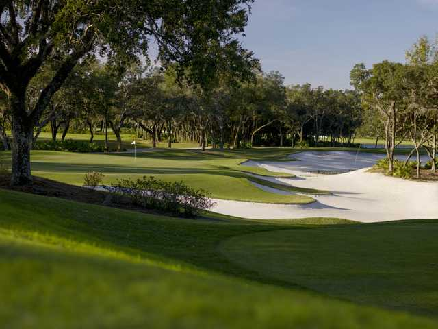 View from Tranquilo Golf Club at Four Seasons Resort Orlando