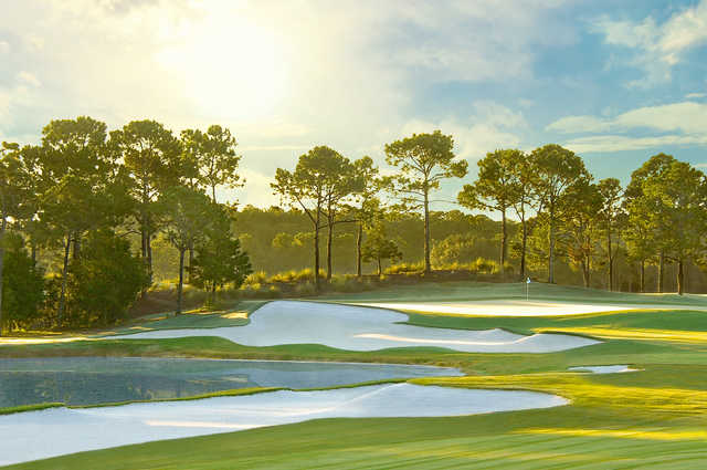 View from #14 at Tranquilo Golf Club at Four Seasons Resort Orlando