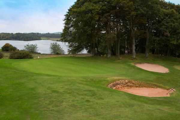 Sandy approach to the 14th at Brampton Golf Club
