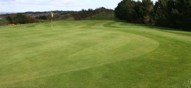 The 9th hole at Linlithgow Golf Club