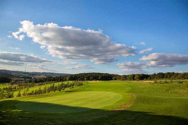 The 2nd green on the Silkstone Golf Course