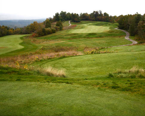 View from Hockley Valley GC's 7th hole