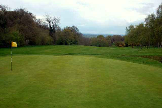 Slick greens at Atherstone Golf Club