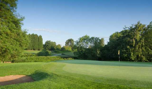 Slick greens at Bristol & Clifton Golf Club