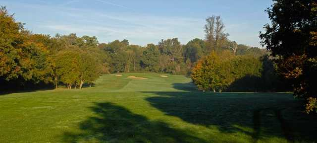 View from the 10th tee at West Herts Golf Club