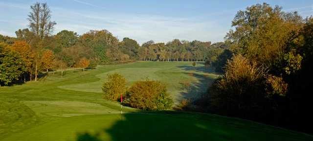 8th hole at West Herts Golf Club