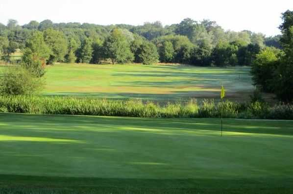 Views from the 4th green at Southwick Park Golf Club