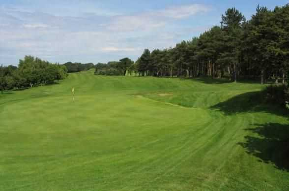 Great shot of the 10th at Scarborough North Cliff