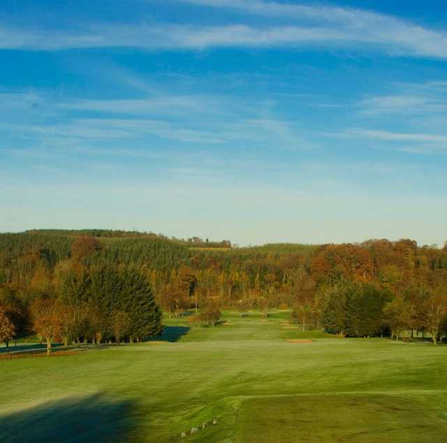 View from the tough 6th tee at Turriff Golf Club