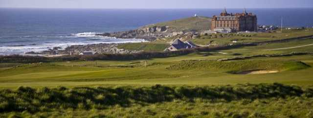 View from Newquay Golf Club