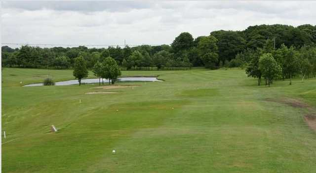Water to avoid off the tee at Normanton Golf Club