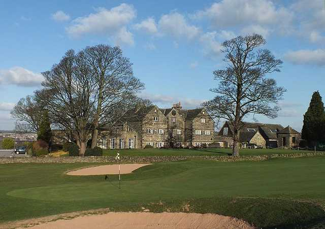 Superb clubhouse at Hallowes Golf Club