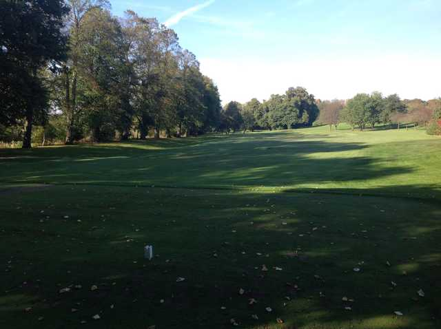 View of the 1st tee and fairway at Chester-le-Street Golf Club