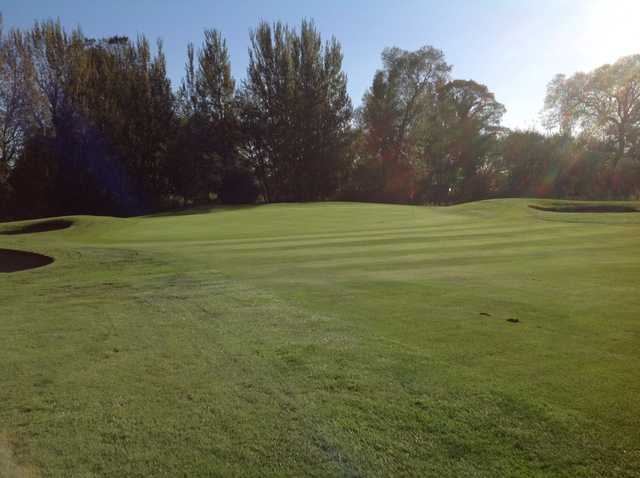 View of the 9th Green at Chester-le-Street Golf Club