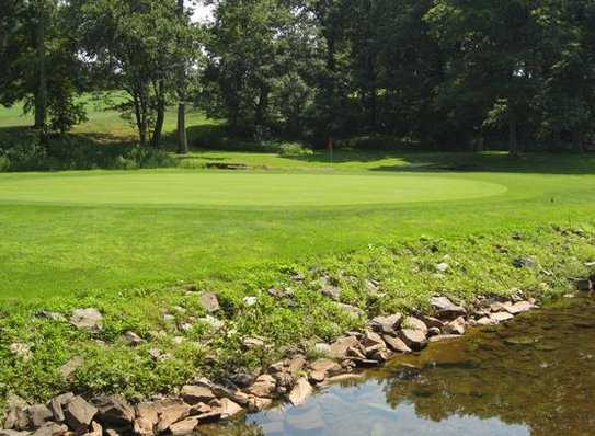 A view of the 11th green at Skippack Golf Course